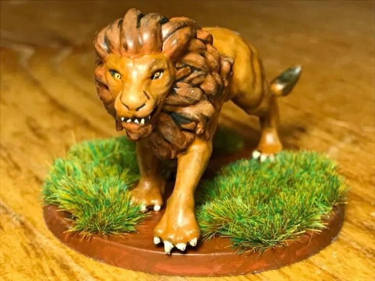 Conan lion